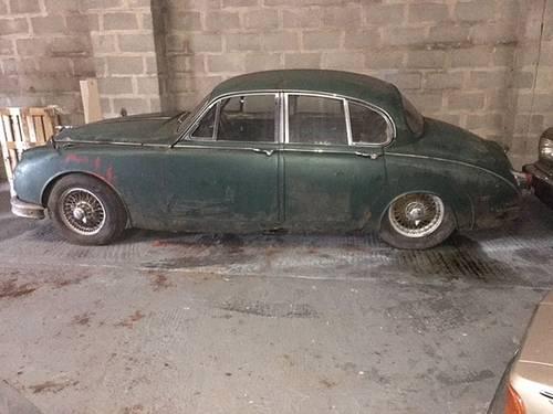 jaguar mk2 2.4 manual restoration project - 1 former keeper SOLD (picture 4 of 5)