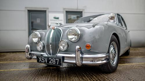 1960 Jaguar MKII 2.4 Manual with Overdrive For Sale (picture 1 of 4)