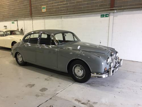 1960 Jaguar MKII 2.4 Manual with Overdrive For Sale (picture 4 of 4)