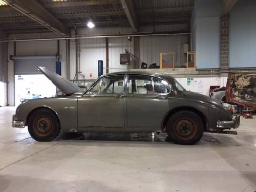 1961 Jaguar MKII 3.4 Manual + Overdrive For Sale (picture 3 of 6)