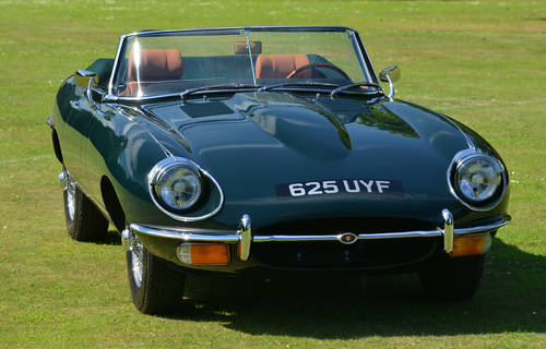 1969 Jaguar E-Type Series 2 Roadster OTS Left Hand Drive LHD For Sale (picture 1 of 6)