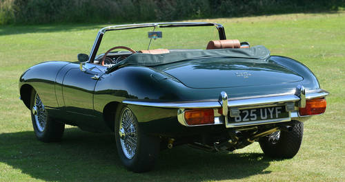 1969 Jaguar E-Type Series 2 Roadster OTS Left Hand Drive LHD For Sale (picture 3 of 6)