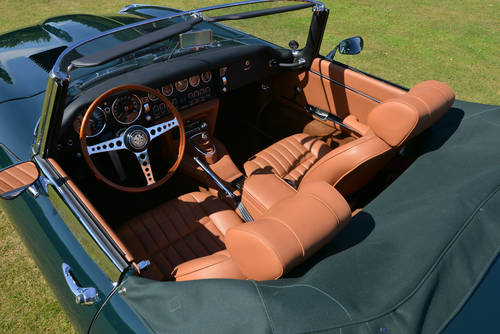 1969 Jaguar E-Type Series 2 Roadster OTS Left Hand Drive LHD For Sale (picture 4 of 6)