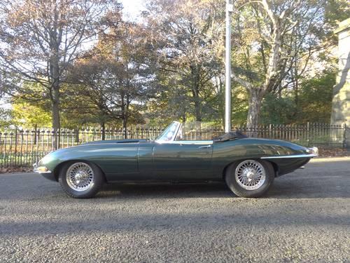 1963 Jaguar E-Type 3.8 Series 1 Roadster Original UK Car For Sale (picture 1 of 6)