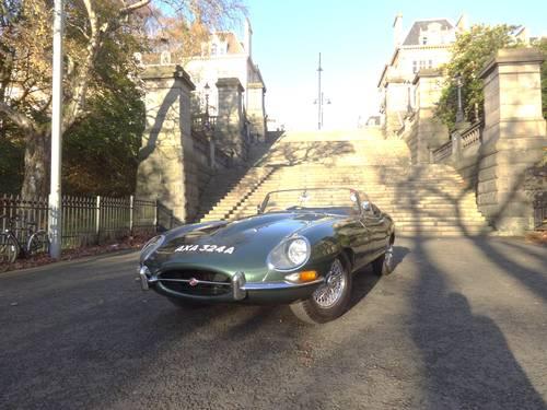 1963 Jaguar E-Type 3.8 Series 1 Roadster Original UK Car For Sale (picture 2 of 6)