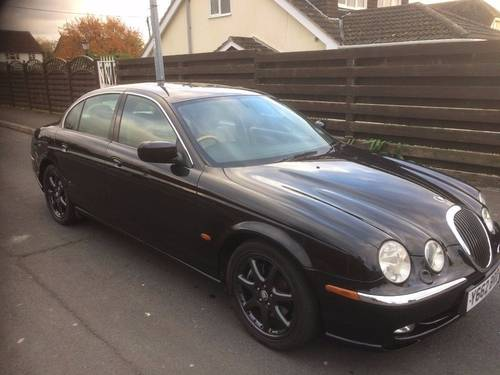 2001 Jaguar S Type Rare Manual Stunning Car! For Sale (picture 1 of 6)