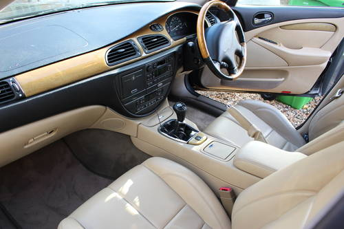 2001 Jaguar S Type Rare Manual Stunning Car! For Sale (picture 6 of 6)