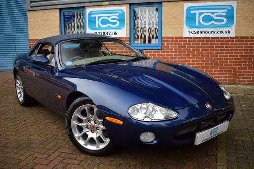2001 Jaguar XKR 4.0i V8 Convertible  SOLD (picture 1 of 6)