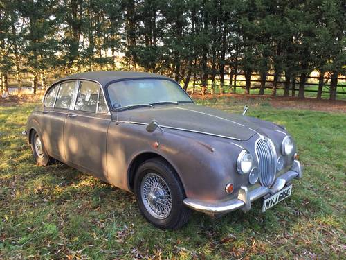 1969 Jaguar MK2 project For Sale (picture 1 of 5)