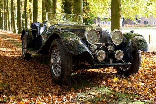 1938 Jaguar SS100 SOLD (picture 1 of 6)