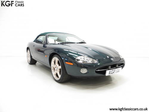 2001 Jaguar XK8 Convertible with 11771 Miles, Full Jaguar History SOLD (picture 1 of 6)