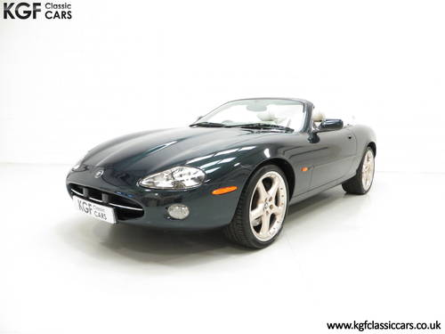 2001 Jaguar XK8 Convertible with 11771 Miles, Full Jaguar History SOLD (picture 2 of 6)
