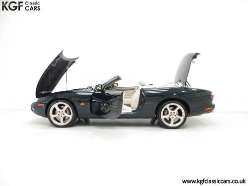 2001 Jaguar XK8 Convertible with 11771 Miles, Full Jaguar History SOLD (picture 3 of 6)