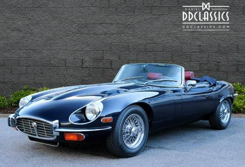 Jaguar E-Type Series III V12 Roadster 1973 (LHD) SOLD (picture 1 of 6)
