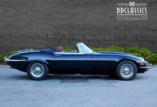 Jaguar E-Type Series III V12 Roadster 1973 (LHD) SOLD (picture 3 of 6)