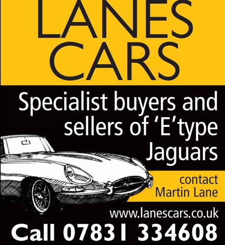 Lanes Cars E Type Jaguar Specialist Wanted (picture 1 of 1)