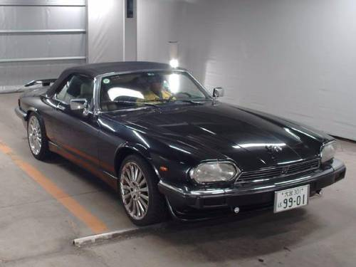 1991 JAGUAR XJS RARE IMPORTED CONVERTIBLE LHD XJ-S 5.3 V12 AUTO * For Sale (picture 1 of 6)