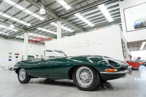 1968 JAGUAR E-TYPE SERIES 1.5 4.2L ROADSTER SOLD (picture 1 of 6)