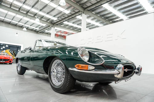 1968 JAGUAR E-TYPE SERIES 1.5 4.2L ROADSTER SOLD (picture 2 of 6)