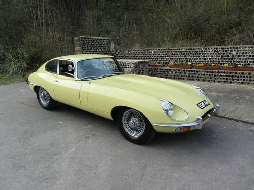 1969 Jaguar E-Type series 2 4.2 FHC For Sale SOLD (picture 2 of 6)