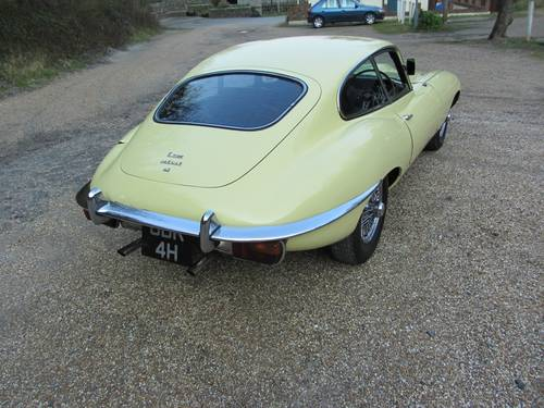 1969 Jaguar E-Type series 2 4.2 FHC For Sale SOLD (picture 3 of 6)