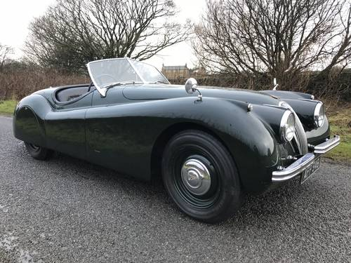 1954 Jaguar XK120 Roadster ~ RHD SOLD (picture 1 of 6)