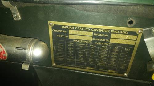 Jaguar XK 120 DHC 1954 For Sale (picture 3 of 6)