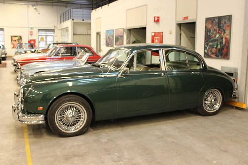 1960 Jaguar MKII 3,8 l LHD For Sale (picture 1 of 6)
