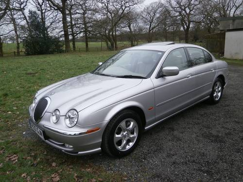 1999 JAGUAR S TYPE 3.0 V6 AUTO SILVER/CREAM 25K STUNNING!! SOLD (picture 1 of 6)