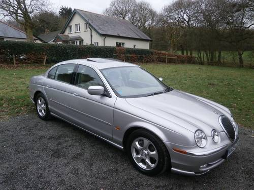 1999 JAGUAR S TYPE 3.0 V6 AUTO SILVER/CREAM 25K STUNNING!! SOLD (picture 3 of 6)
