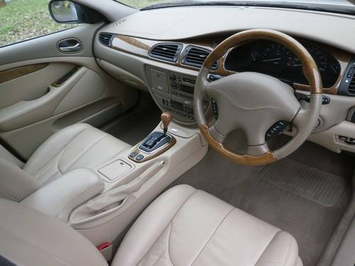 1999 JAGUAR S TYPE 3.0 V6 AUTO SILVER/CREAM 25K STUNNING!! SOLD (picture 6 of 6)