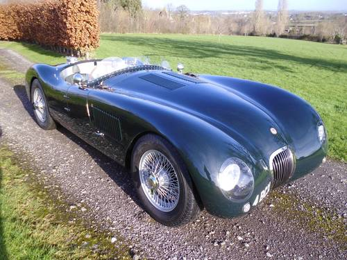 1951 Jaguar C type Replica by Realm Engineering SOLD | Car
