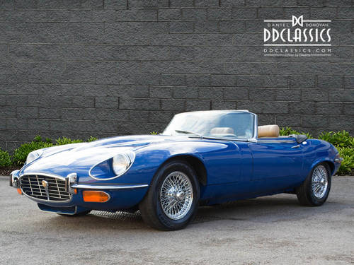 1973 Jaguar E-Type Series III V12 Roadster (RHD) For Sale (picture 1 of 6)
