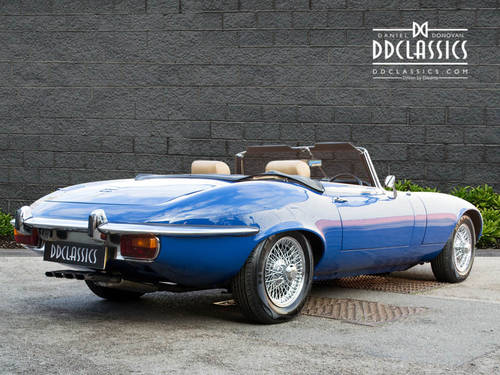 1973 Jaguar E-Type Series III V12 Roadster (RHD) For Sale (picture 2 of 6)