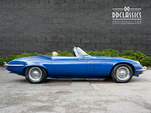 1973 Jaguar E-Type Series III V12 Roadster (RHD) For Sale (picture 3 of 6)