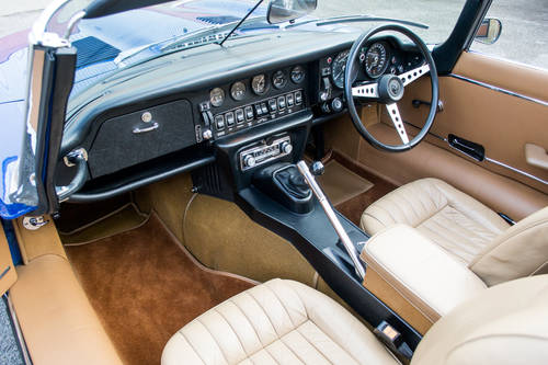 1973 Jaguar E-Type Series III V12 Roadster (RHD) For Sale (picture 5 of 6)