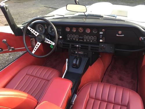 1973 Jaguar E 5,3 V12 Roadster  SOLD (picture 4 of 6)