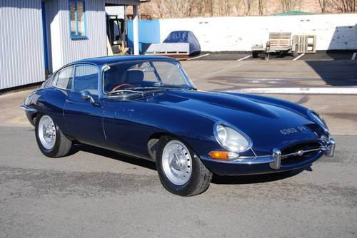 1963 Jaguar E-type S1 3.8 FHC, RHD, Matching Nos, History For Sale (picture 1 of 6)
