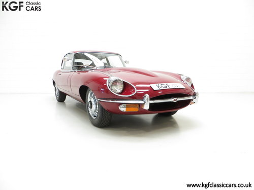 1970 A UK Jaguar E-Type Series 2 4.2 2+2 FHC with 15,715 Miles SOLD (picture 1 of 6)