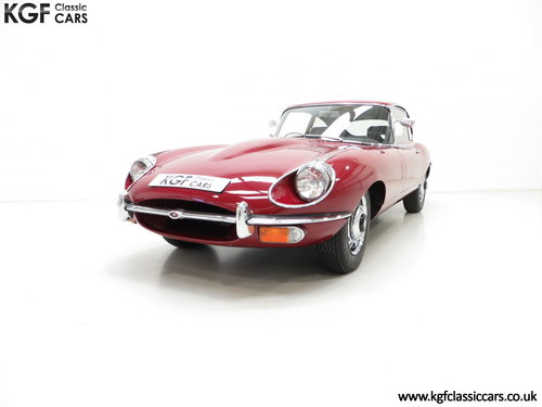 1970 A UK Jaguar E-Type Series 2 4.2 2+2 FHC with 15,715 Miles SOLD (picture 2 of 6)
