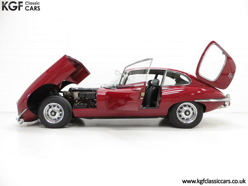 1970 A UK Jaguar E-Type Series 2 4.2 2+2 FHC with 15,715 Miles SOLD (picture 3 of 6)