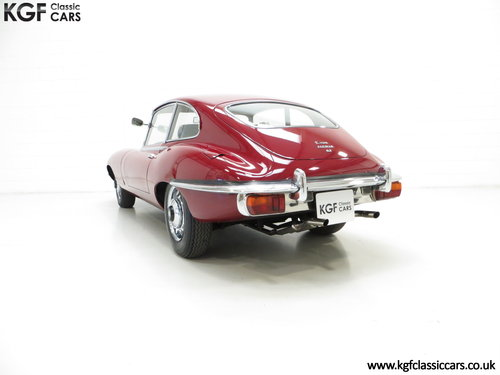 1970 A UK Jaguar E-Type Series 2 4.2 2+2 FHC with 15,715 Miles SOLD (picture 4 of 6)