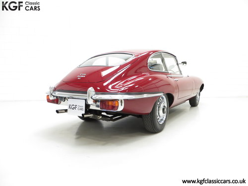 1970 A UK Jaguar E-Type Series 2 4.2 2+2 FHC with 15,715 Miles SOLD (picture 5 of 6)