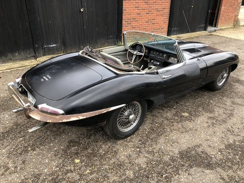 1965 Jaguar E-Type S1 4.2 Roadster For Restoration SOLD (picture 4 of 6)