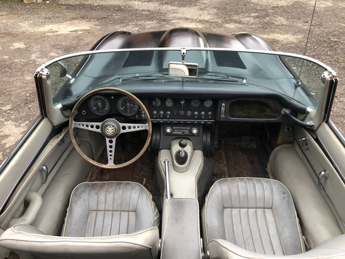 1965 Jaguar E-Type S1 4.2 Roadster For Restoration SOLD (picture 5 of 6)