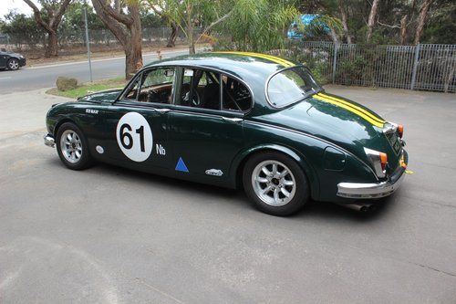 Jaguar 3.8 MKII 1964 Historic Touring Car For Sale (picture 3 of 6)