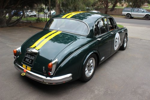 Jaguar 3.8 MKII 1964 Historic Touring Car For Sale (picture 4 of 6)