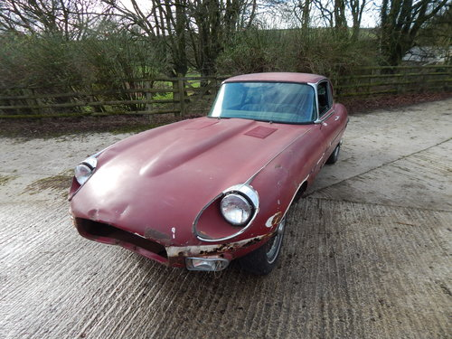 1969 Jaguar E Type 2+2 For Sale (picture 1 of 6)
