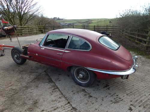 1969 Jaguar E Type 2+2 For Sale (picture 4 of 6)