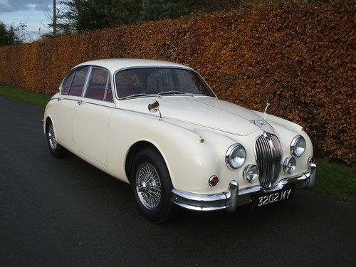 1961 Jaguar MK2  For  Sale. SOLD (picture 1 of 6)